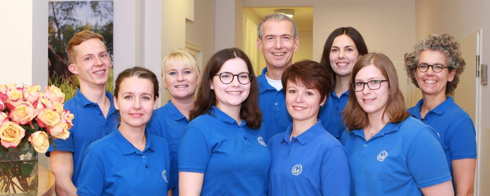 Zahnarzt Dr. Mundorf Team 2020